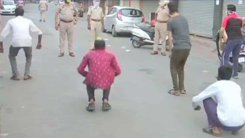 WATCH: COVID-19 lockdown offenders asked to do sit-ups in THIS state; Full video here
