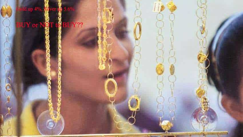 Gold Price Today 05-05-2021: Gold gains 4% in April, Silver up 5.6%; prices likely to shoot up says IIFL expert; RECOMMENDS a BUY