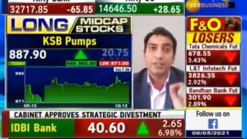 Midcap Picks with Anil Singhvi: KSB Pumps, Borosil Ltd, Ajanta Pharma are stocks to buy for bumper returns