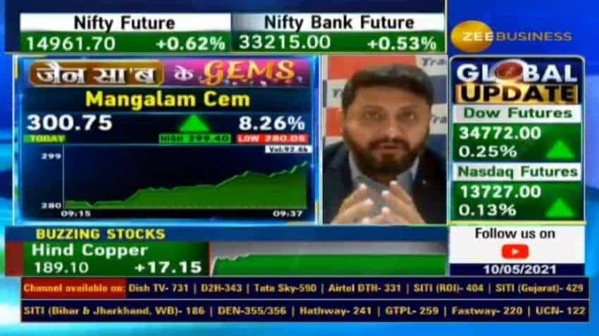 Stocks to buy with Anil Singhvi: Mangalam Cement - Know features and levels to buy | Sandeep Jain explains