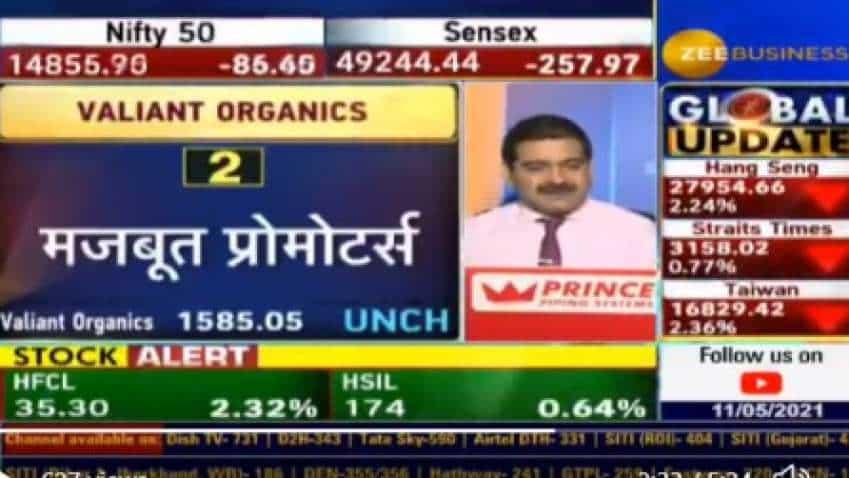 Anil Singhvi picks Valiant Organics as his SIP stock today; reveals 4 reasons why investors should buy