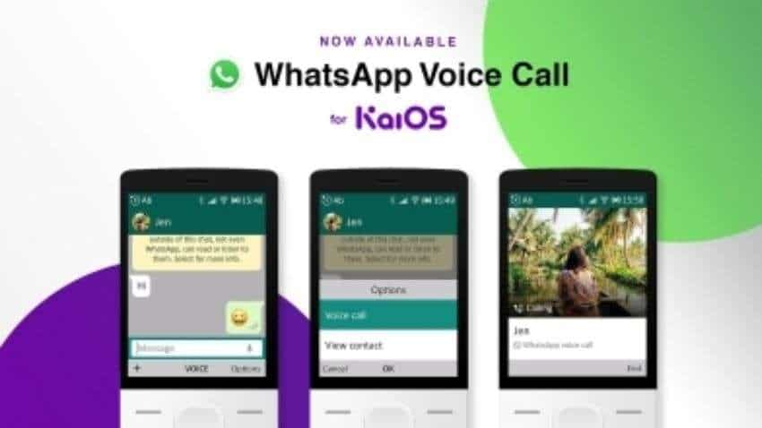 WhatsApp latest update: Voice calling allowed on KaiOS feature phones, including JioPhone - All details here