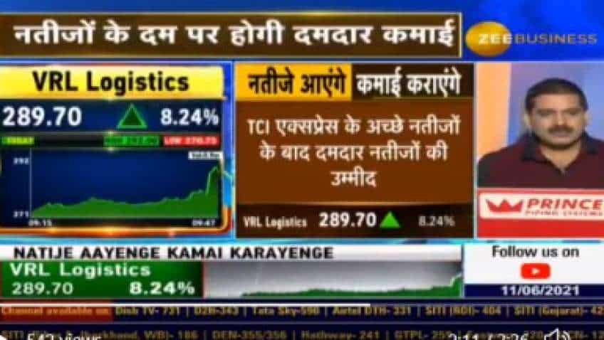 VRL Logistics to report spectacular results, expects Zee Business analyst – stock surges 20%, share price hits new 52-week high