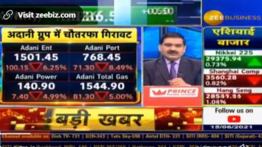 Adani Group Shares Latest News: DRAMA! Market Guru Anil Singhvi DECODES fall and recovery of these shares