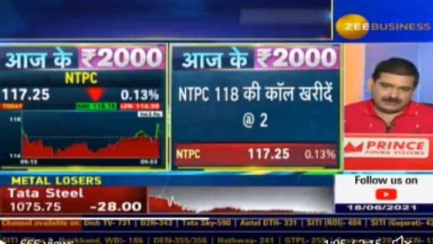 Aaj Ke 2000 with Anil Singhvi: BUY! Market Guru recommends Rs 118 NTPC call option – REVEALS 3 targets