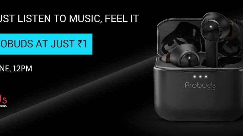Lava Probuds TWS earphones LAUNCH OFFER: UP FOR GRABS at just Re 1! ACTUAL PRICE - Rs 2,199
