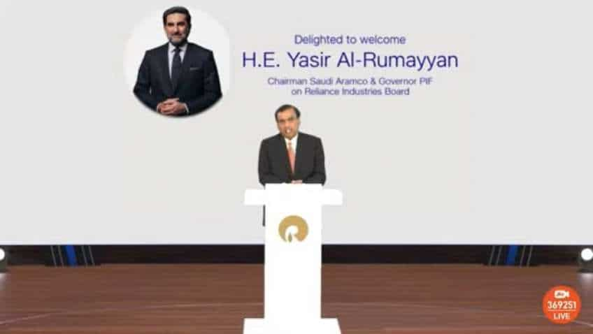 RIL AGM 2021: Saudi Aramco Chairman to join RIL Board, O2C deal likely to be finalised this year, says Mukesh Ambani