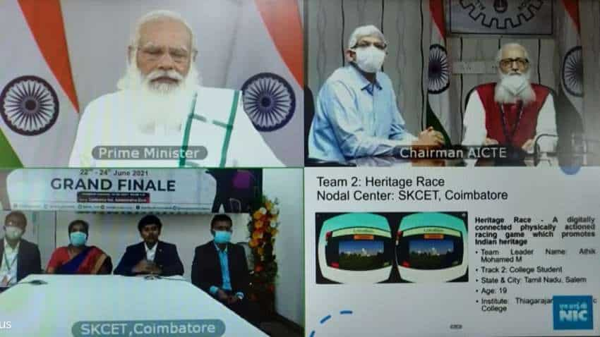 How the young impressed PM Narendra Modi with 'Heritage Race' VR game