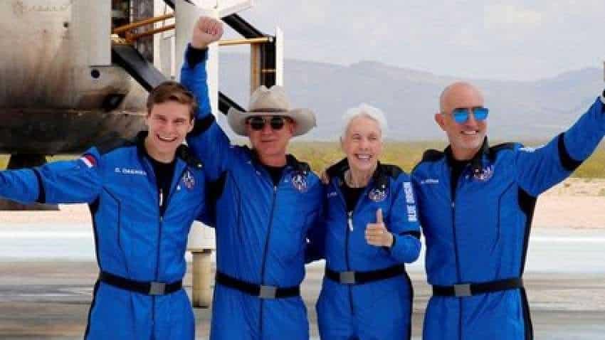 'Best day ever': World's richest man Jeff Bezos after first unpiloted suborbital flight