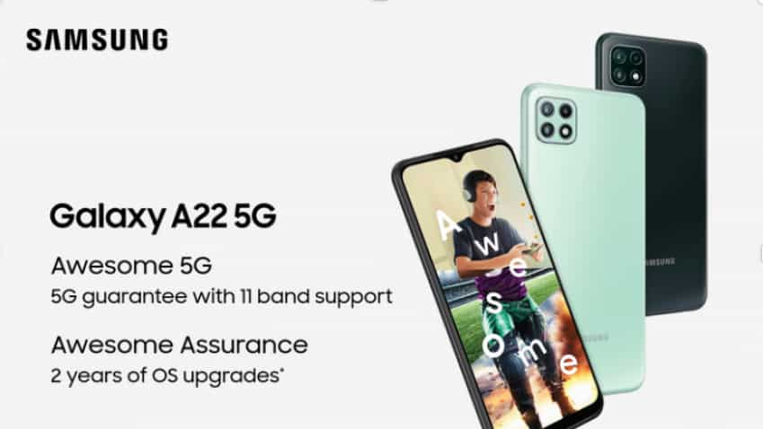 Samsung Galaxy A22 5G smartphone LAUNCHED at THIS PRICE - Check Offers, Availability, Specs and More