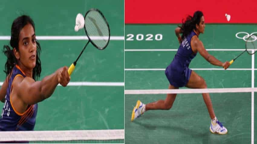 Olympics-Badminton-Sweat and tears: PV Sindhu beats Israel`s Ksenia Polikarpova under 30 minutes