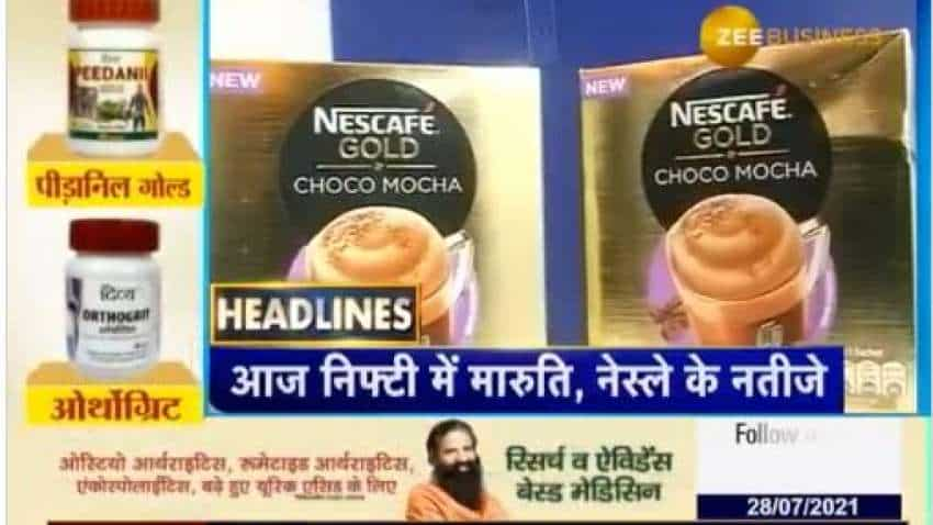HEADLINES TODAY – Q1FY22 results of Maruti, Nestle; Rolex Rings IPO opens today; Union Cabinet to meet – all details here!