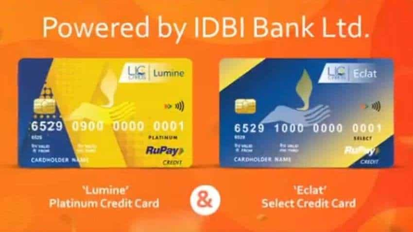 Lumine and Eclat: LIC CSL launches Co-branded RuPay Credit Cards powered by IDBI Bank- Check the benefits offered