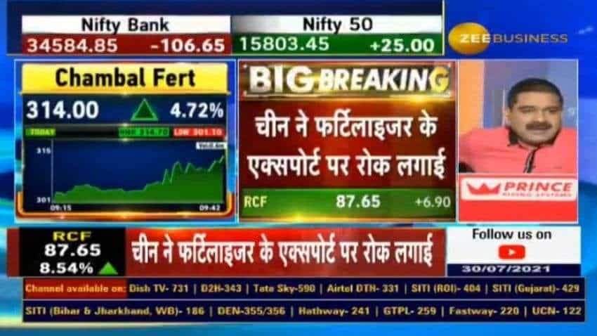 BIG NEWS for domestic fertilizer companies! China suspends export of fertilizers; Anil Singhvi LISTS companies that would BENEFIT