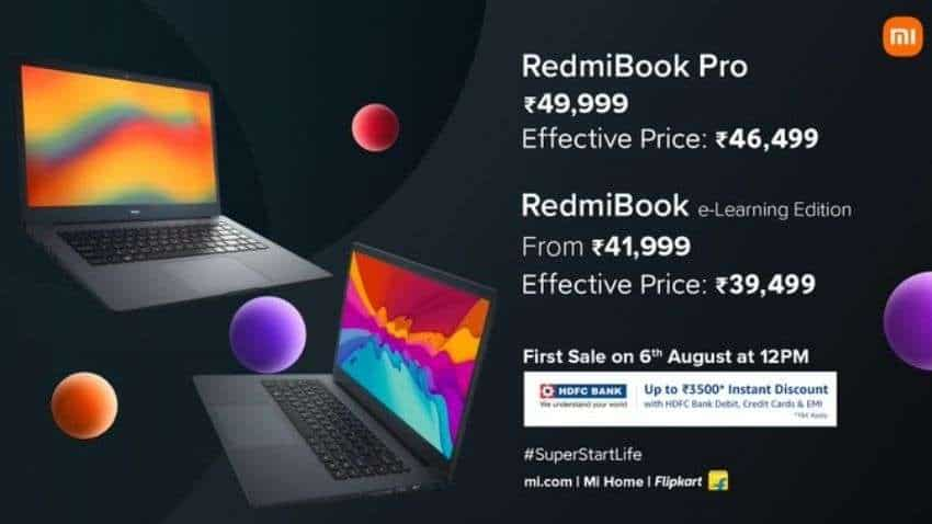 RedmiBook India Launch: Redmi's first laptop series is here! Check prices, HDFC Bank OFFERS and discounts you can avail