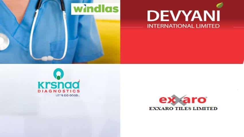 IPO on 4th August: It's raining public issues! KRSNAA Diagnostics, Windlas Biotech, Devyani International, Exxaro Tiles open tomorrow – Price Band, lot size, discounts – ALL DETAILS HERE