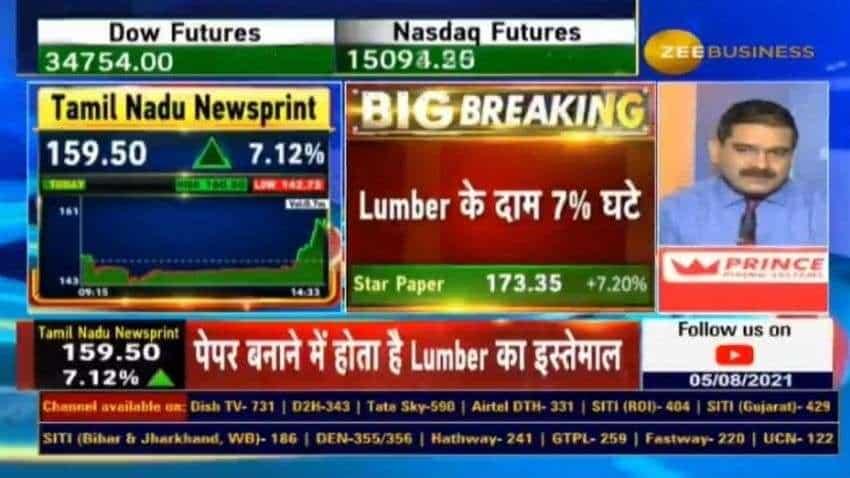 Stocks in Focus - Star Paper, Tamil Nadu Newsprint shares, as lumber prices fall 7% - Anil Singhvi explains IMPACT