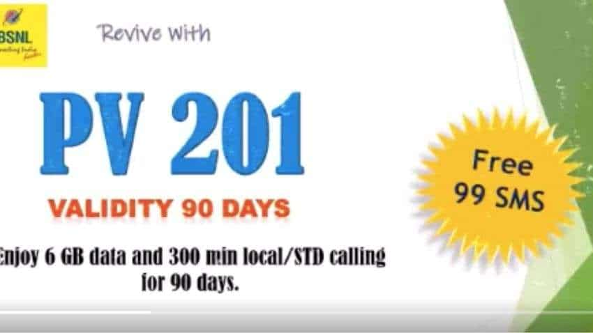 LAUNCHED! BSNL Rs 201 PREPAID plan in more circles; also check 187 plan, Rs 1,499 plan - Offers & Benefits
