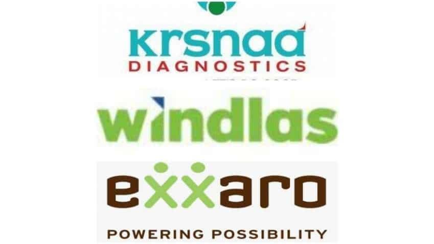 Krsnaa Diagnostics, Exxaro Tiles, Windlas Biotech stocks listed today - Know the performance on debut