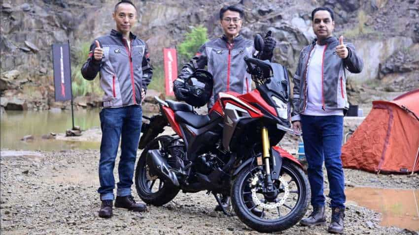 Honda CB200X ADV rolled out in India; check price, design, engine, colour and other features