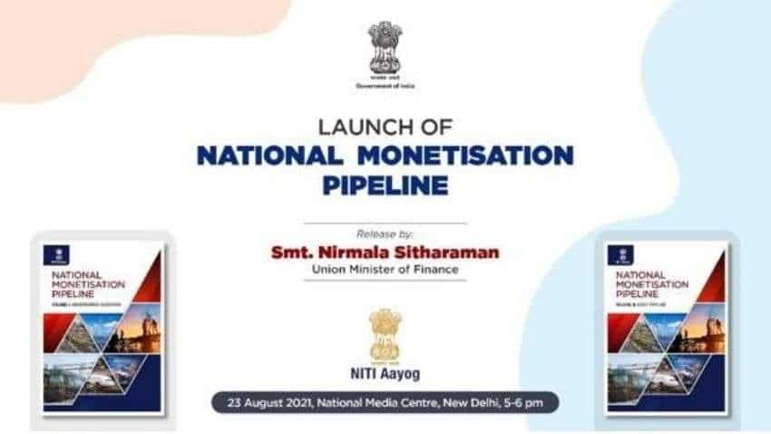 National Monetisation Pipeline (NMP) LAUNCH Today:  Check what to EXPECT from FM Nirmala Sitharaman