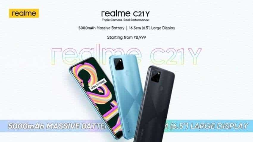 Realme C21Y budget smartphone - LAUNCHED at Rs 8,999, smartphone comes with 5000mAh battery, triple camera | Check all details here