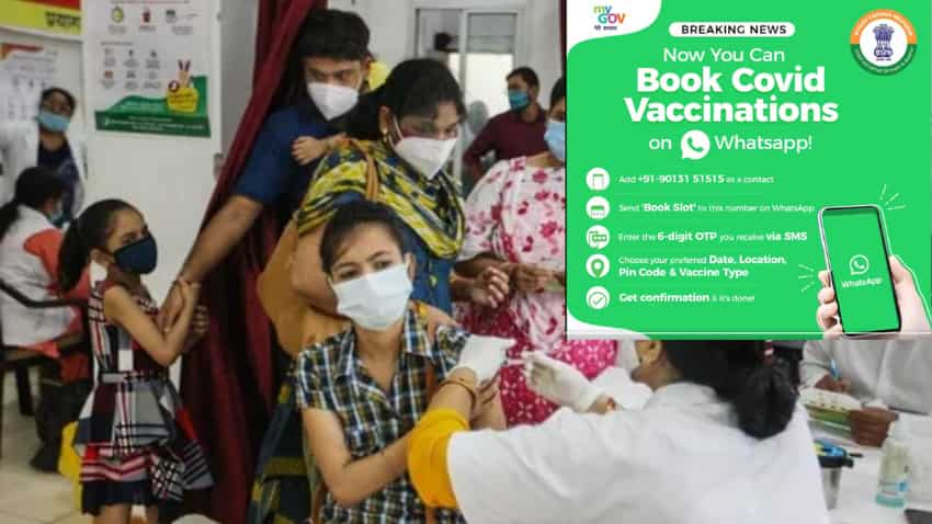 COVID-19 vaccine slot booking on WhatsApp: Follow THIS step-by-step guide - Also know how to DOWNLOAD coronavirus vaccination certificate on WhatsApp