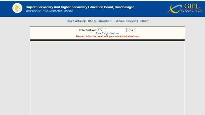 GSEB SSC 10th class repeater results RELEASED at gseb.org, follow THESE simple steps to CHECK - Find details here