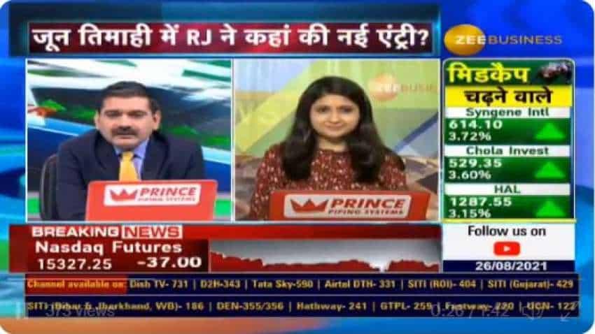 Rakesh Jhunjhunwala stock list 2021 – News investments in Q2FY22 - SAIL, Indiabulls Housing, Canara Bank; increases stake in Fortis Health, Federal Bank, Edelweiss Financial