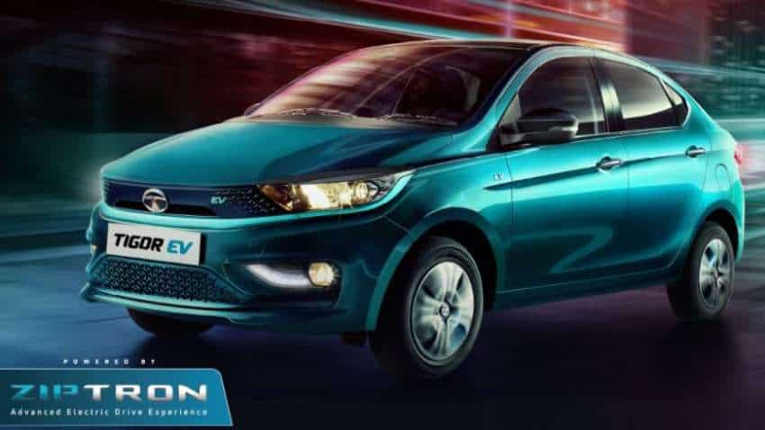 Tata Tigor EV LAUNCHED; Check initial price, variants and more about Tata Motors 2nd electric car after Nexon EV
