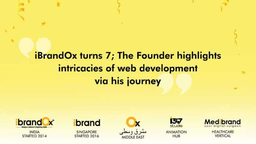 Celebrating 7 years, iBrandOx Founder says, 'It is the end result that matters!'
