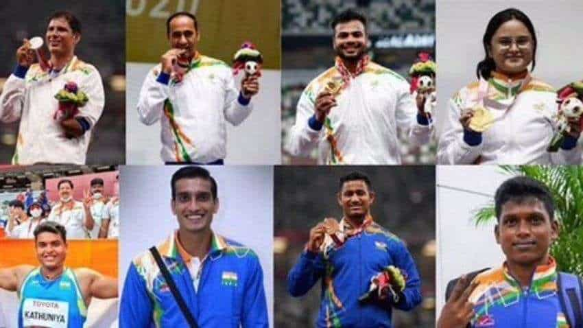Medal tally Tokyo Paralympics 2020: India at 35th spot with 10 Medals- Details here
