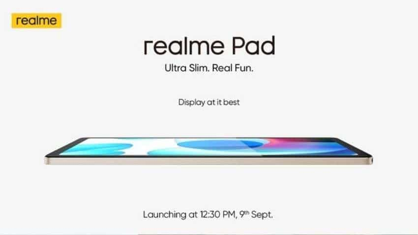 Realme Pad, Realme Bluetooth Speakers India launch today: Check expected price and specs - When & Where to watch event LIVE