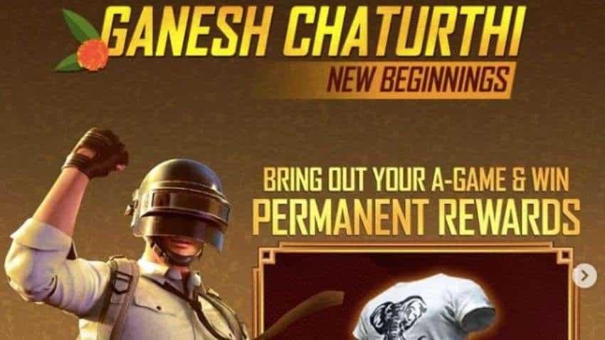 Battlegrounds Mobile India latest update: BGMI celebrates Ganesh Chaturthi - Check rewards, elephant shirt, classic crate coupons and more