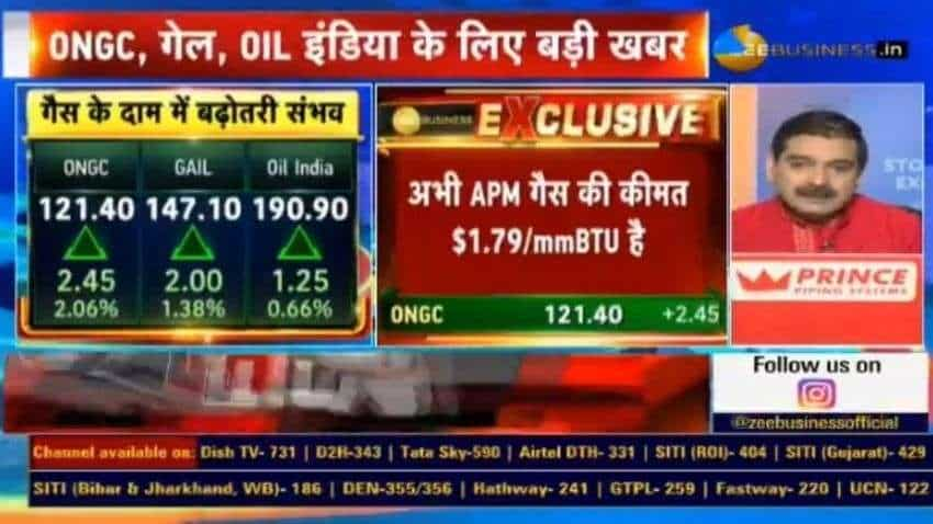 EXCLUSIVE: Big news for ONGC, GAIL, Oil India! Government likely to increase gas prices by up to 70% from October- Know what Anil Singhvi says