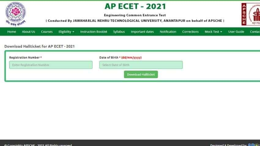 AP ECET 2021 hall tickets RELEASED TODAY; see WHERE and HOW to DOWNLOAD - Check exam date, time and FULL SCHEDULE here