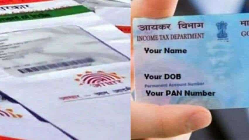 PAN Aadhaar linking DEADLINE on THIS DATE, see how to link via SMS - Check process and details here