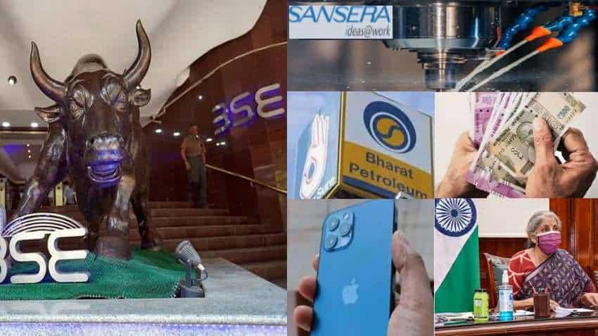 Stocks Markets Next Week – BPCL, Emami Realty, CESC; Sansera Engineering IPO; Vijaya Diagnostic, iPhone 13, GST, retail inflation – TOP TRIGGERS