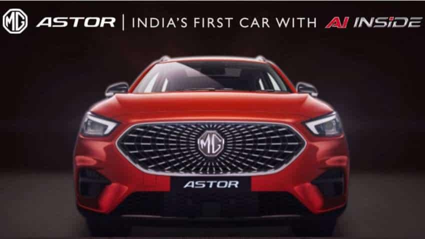 MG Astor UNVEILING date REVEALED! Khel Ratna Awardee Deepa Malik to voice MG Motor SUV's personal AI assistant
