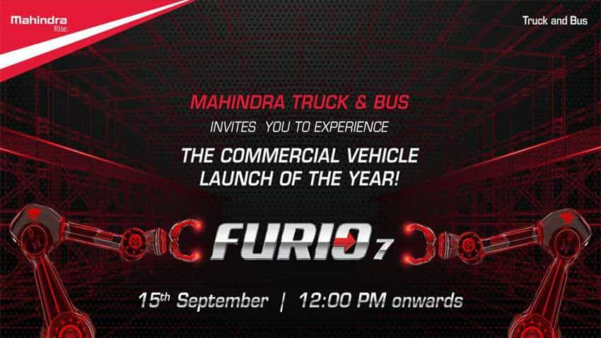 Mahindra Truck and Bus to launch Furio 7 on  15 September at this time – Know More