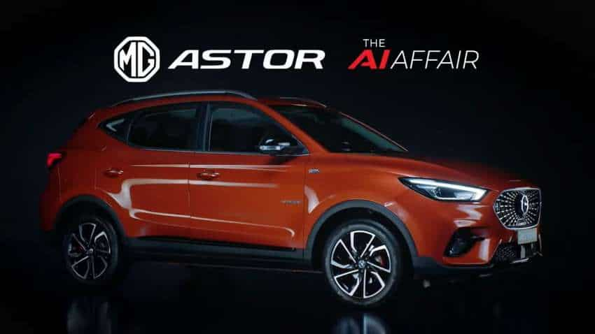 First Car with AI Inside! MG Motor India UNVEILS Astor SUV TODAY; Check Engine, Features, Specifications, Booking details
