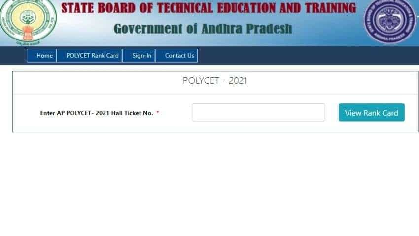 AP POLYCET 2021 results OUT at polycetap.ap.nic.in, DOWNLOAD rank cards following THESE steps - Check KEY details here