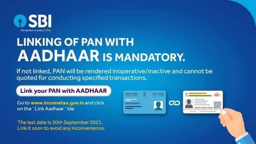 PAN-Aadhaar linking alert! SBI customers will not be able to avail these services if their PAN and Aadhaar are not linked to bank account- Check last date, full process here