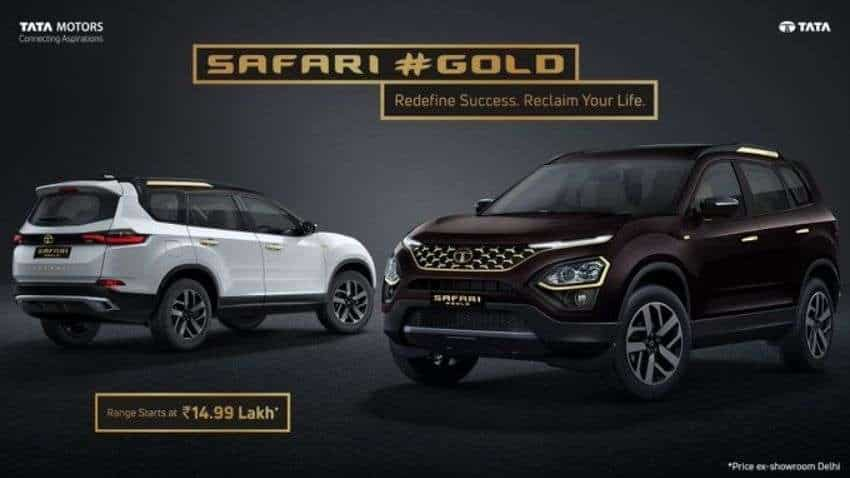 Tata Motors drives in Safari Gold Edition at Rs 21.89 lakh
