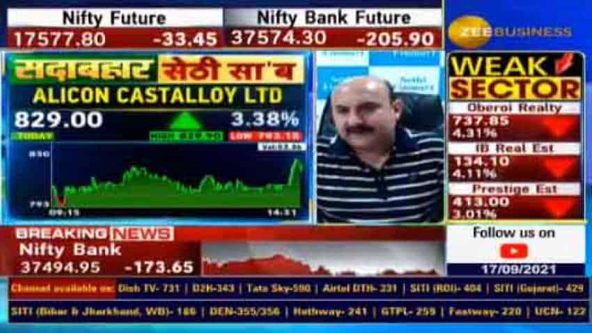 Stocks to buy with Anil Singhvi: Know why Vikas Sethi is bullish on Alicon Castalloy and Emmbi Industries shares? check targets and stoploss