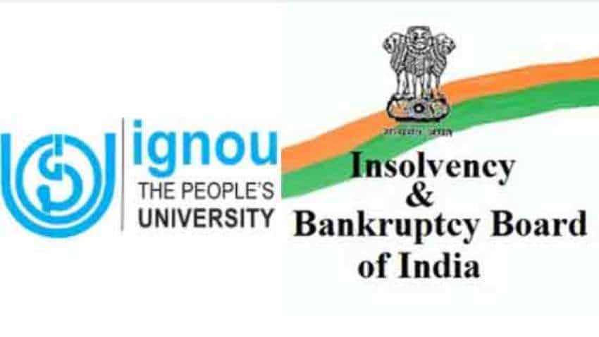 Insolvency and Bankruptcy Board of India signs MoU with IGNOU for utilising tele lecturing facility of Gyan Darshan channel