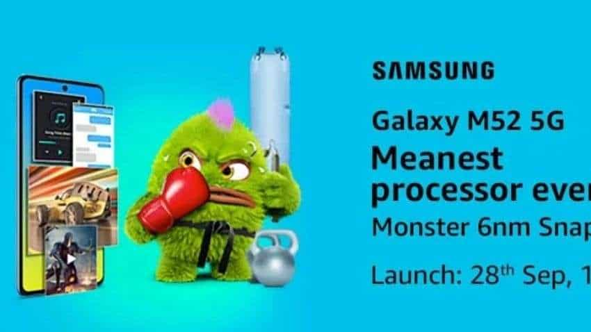 Samsung Galaxy M52 5G launch date in India set for September 28: Check all details here