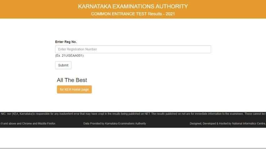 KCET results 2021 released by KEA; check how to download, important updates on entering marks and ranks