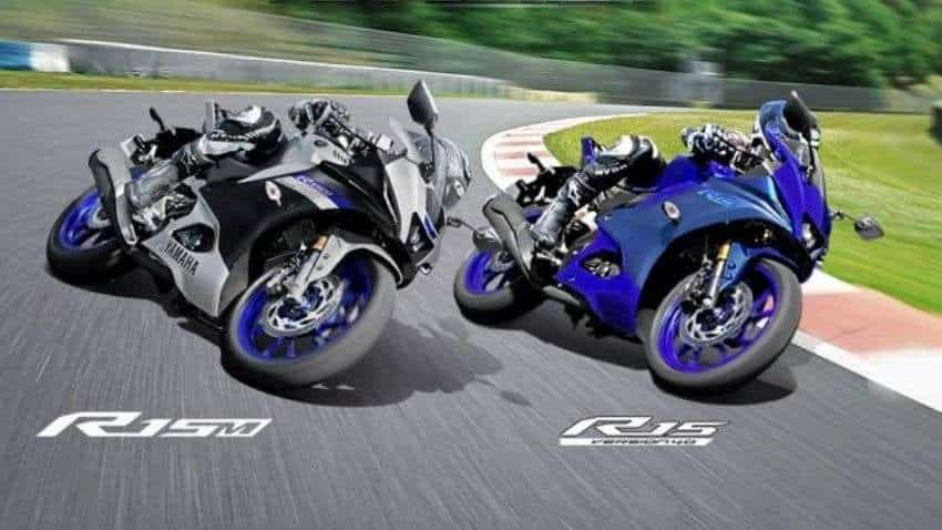 Yamaha drives in new 155 cc scooter Aerox 155, updated YZF-R15 range in India