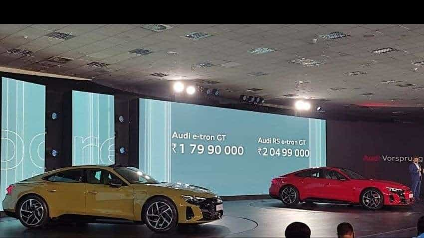 Audi launches first EV e-tron GT, RS e-tron GT today in India; price starts at Rs 1.80 cr